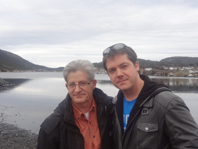 Barry Sr and Barry Jr – Fall 2012 in Barry Sr's Hometown Woodstock, NFLD