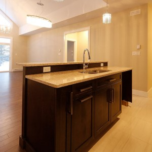 34 Auberry, Moncton NB: Kitchen island