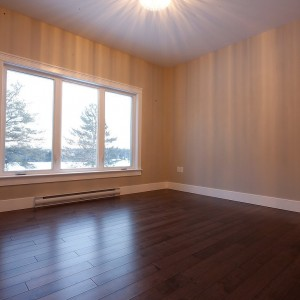 34 Auberry, Moncton NB: Master bedroom, window view