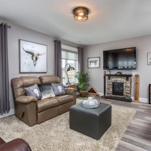 36 Shari Lane: Living Room